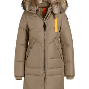 Parajumpers Naisten Untuvatakki, Long Bear Down Jacket Beige
