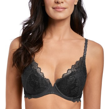 Wacoal Lace Perfection Plunge Push Up Bra * Ilmainen Toimitus *