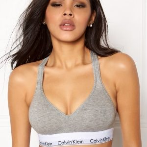 Calvin Klein CK Cotton Bralette Lift 020 Grey Heather M