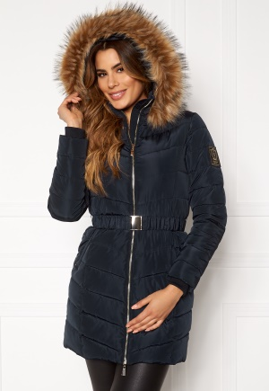 Chiara Forthi Campitello Padded Jacket Navy 36