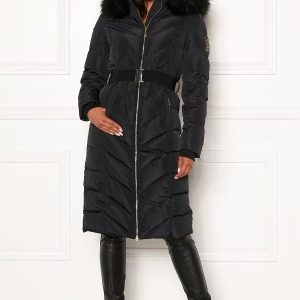 Chiara Forthi Garibaldi long down jacket Black 34