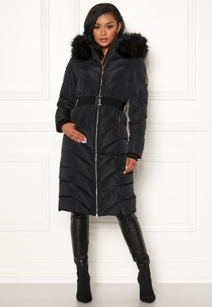 Chiara Forthi Garibaldi long down jacket Black 44
