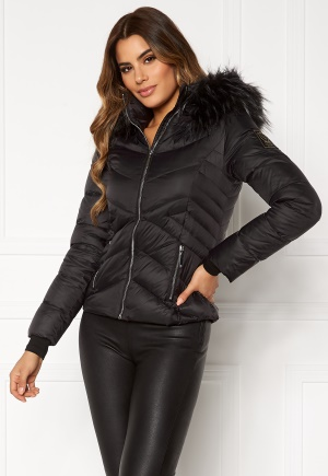Chiara Forthi Genua Short Down Jacket Black 40