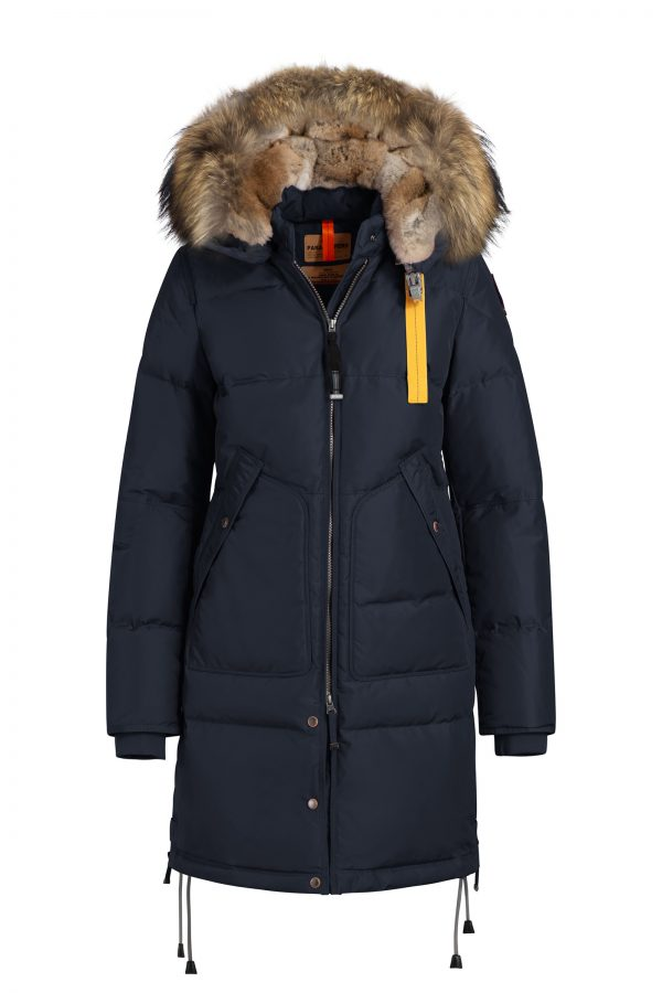 Parajumpers Naisten Untuvatakki, Long Bear Down Jacket Tummansininen