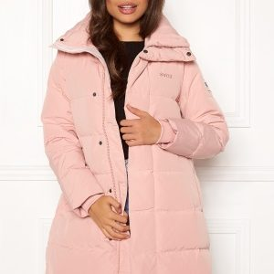 Svea Slim Fit Padded Jacket 505 Soft Pink M