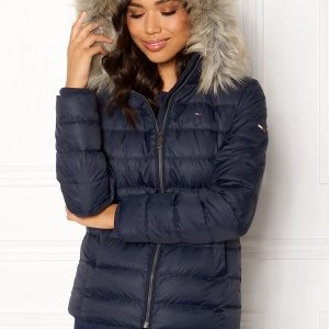TOMMY JEANS Essential Down Jacket 002 Black Iris L