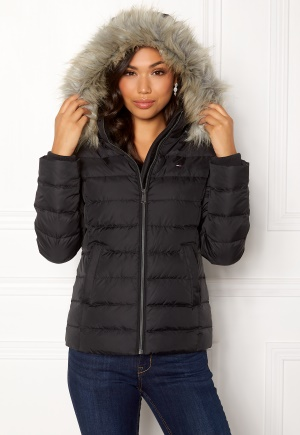 TOMMY JEANS Essential Down Jacket 078 Tommy Black L