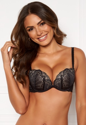 Wonderbra Glamour Full Effect Bra Black 85B