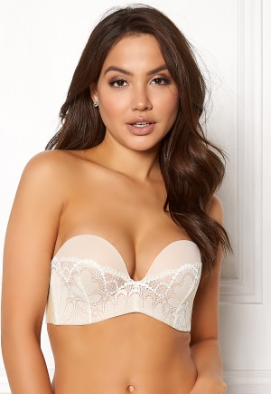 Wonderbra Glamour Perfect Strapless Bra Ivory 70A