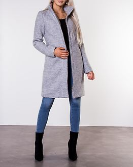 Alanis Coat Light Grey Melange