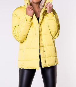 Edit Ume Padded Jacket Dry Meadow