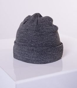 Edo Knit Beanie Medium Grey Melange