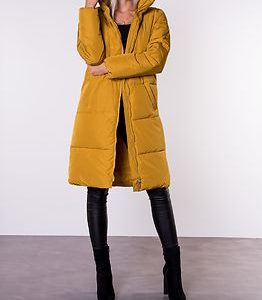 Erica X-Long Padded Jacket Harvest Gold