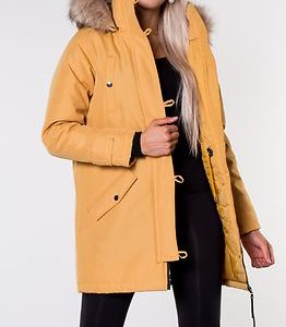 Excursion Expedition Parka Amber Gold