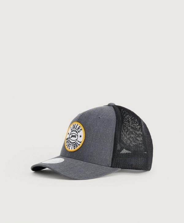 Lippis HEATHER PATCH SNAPBACK - LOS ANGELES LAKERS