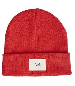 Mari Beanie Chinese Red
