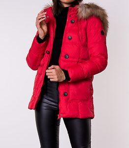 New Ottowa Nylon Coat Chinese Red