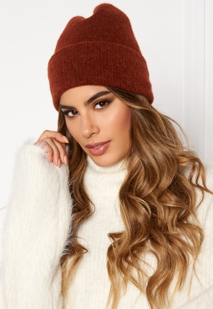 Pieces Josefine Wool Hood Picante One size