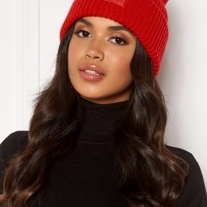 Pieces Josefine Wool Hood Racing red One size