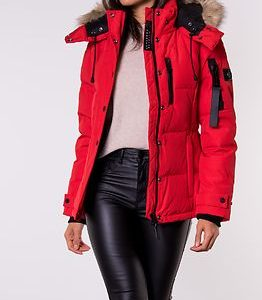 Premium Down New Rescue Jacket Rebel Red