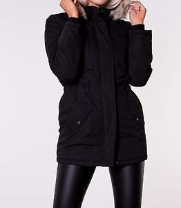 Star Kia Fall Parka Jacket Black