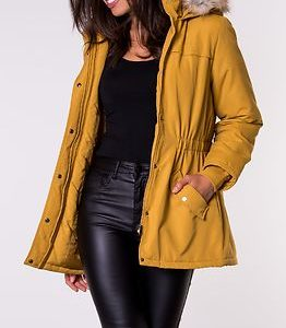 Star Kia Fall Parka Jacket Harvest Gold