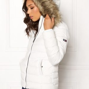 TOMMY JEANS Essential Down Jacket 116 Snow White M