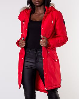 Track Expedition 3/4 Parka Chinese Red