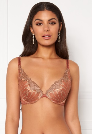 Wonderbra Glamour Triangle Bra Bronze Beauty 80C