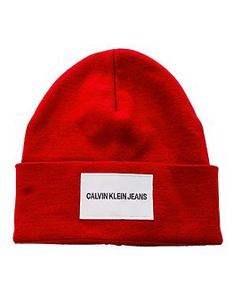 Calvin Hat Red