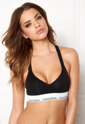 Calvin Klein CK Cotton Bralette Lift 001 Black M