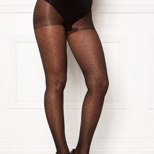 Vogue Swiss Dot Tights 15 Den Black 36/40