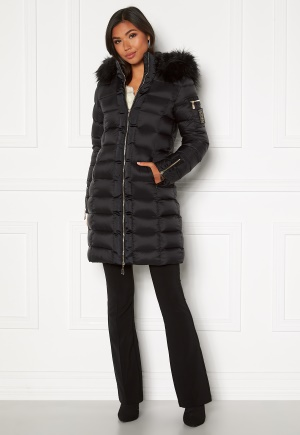 Chiara Forthi Madesimo Long Down Jacket Black 36