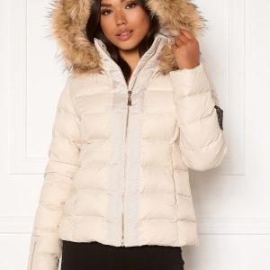 Chiara Forthi Madesimo down jacket Light beige 36