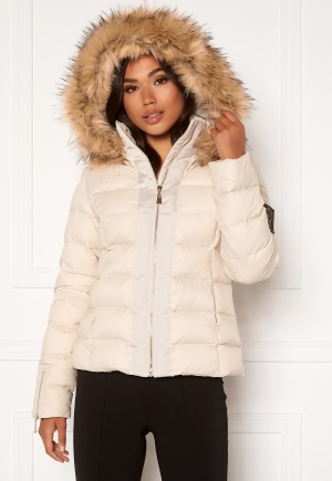 Chiara Forthi Madesimo down jacket Light beige 38