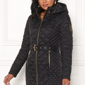 Chiara Forthi Sarraceno Quilted Jacket Black 40
