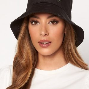 Karl Lagerfeld Ikonik Bucket Hat A999 Black One size
