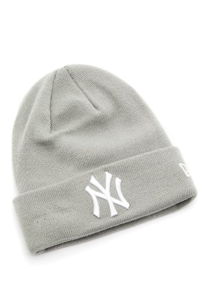 New Era Basic Cuff Knit Gra One size