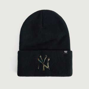 PIPO MLB New York Yankees Caster Camo '47 CUFF KNIT