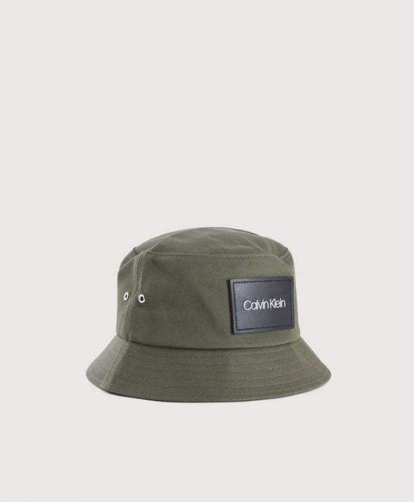 Hattu Leather Patch Bucket