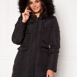 Hollies Livigno Long Coat Black/Black 40