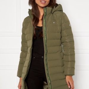 TOMMY JEANS Quilted Down Coat MSQ Olive Tree M