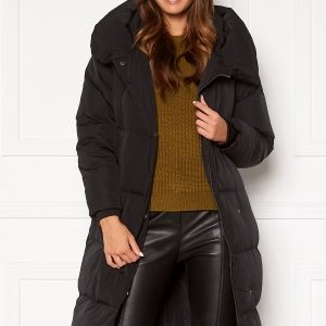 OBJECT Louise Long Down Jacket Black M