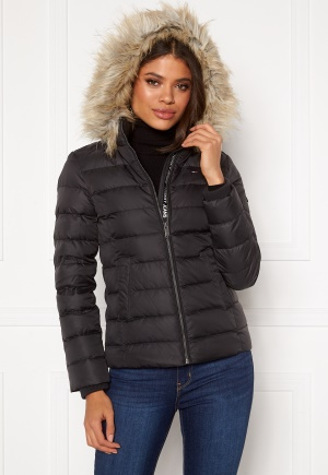 TOMMY JEANS Essential Down Jacket 078 Tommy Black XS
