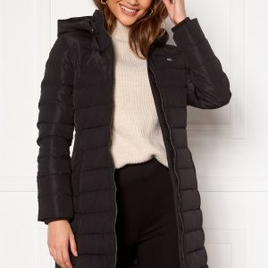TOMMY JEANS Quilted Down Coat BDS Black XS