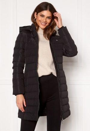 TOMMY JEANS Quilted Down Coat BDS Black L