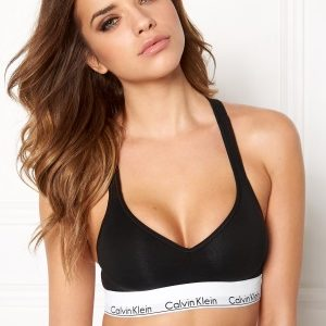 Calvin Klein CK Cotton Bralette Lift 001 Black XS